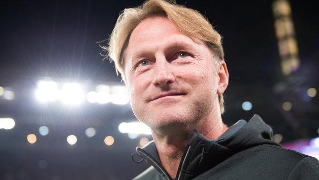 "Hasenhüttl: ""Will mit Leipzig in Champions League"" (Bild: APA/dpa/Marius Becker)"
