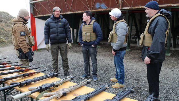 """Schüsse bei Dreharbeiten zu """"ATV Die Reportage"""" (Bild: ATV)"""