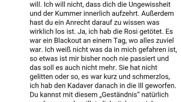 """Der Täter gestand schließlich, """"Rosi"""" ermordet zu haben. (Bild: Screenshot facebook.com)"""