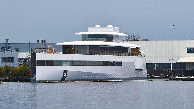 Die 138-Millionen-Dollar-Jacht Venus wurde erst nach Steve Jobs' Tod fertiggestellt. (Bild: EPA)