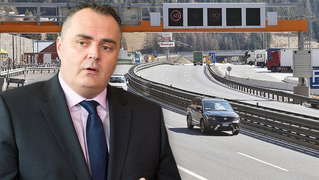 """""""Im Extremfall die Brenner-Grenze dicht machen!"""" (Bild: Christof Birbaumer, APA/GEORG HOCHMUTH)"""