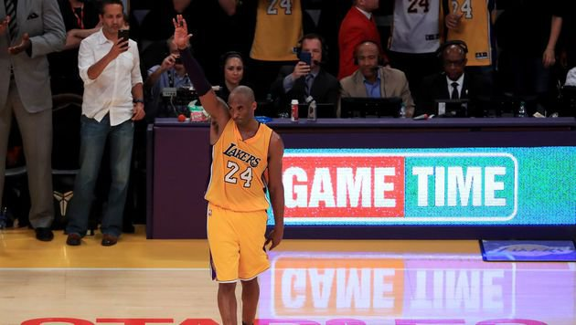 Lakers-Star Kobe Bryant trat mit 60-Punkte-Gala ab (Bild: AFP)