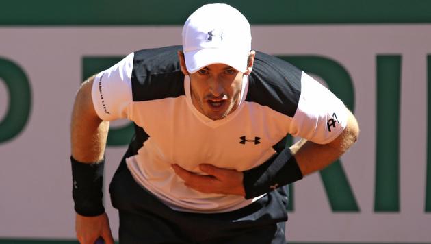 Murray quält sich ins Monte-Carlo-Viertelfinale (Bild: AP)