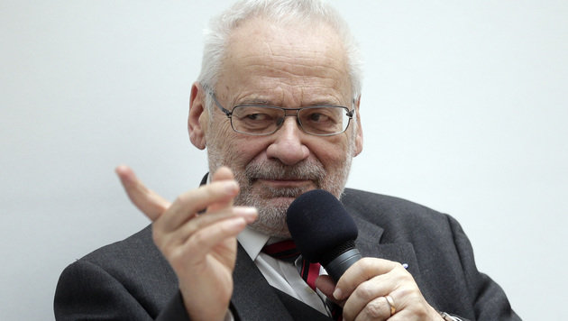 """Erhard Busek findet Andreas Khol """"zu alt"""", um noch als Bundespräsident zu kandidieren. (Bild: APA/GEORG HOCHMUTH)"""
