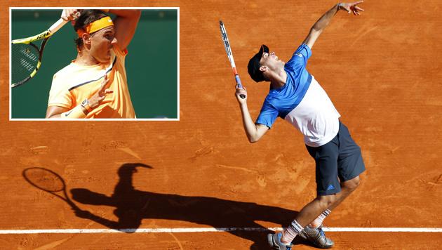 """Thiem unterliegt Nadal nach """"Sand-Schlacht""""! (Bild: APA/AFP/VALERY HACHE)"""