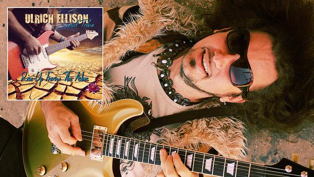 """Ulrich Ellison mit neuem Album """"Rise From The Ashes"""" (Bild: Todd V. Wolfson, ulrichellison.com)"""