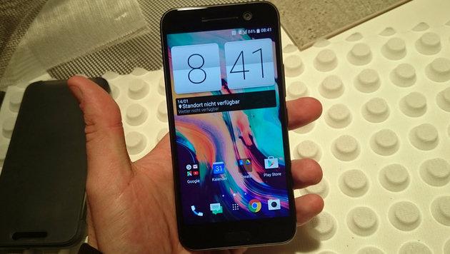 HTC 10: So fühlt sich das neue Edel-Smartphone an (Bild: Dominik Erlinger)