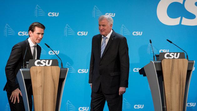 Seehofer: EU-Außengrenzen besser kontrollieren (Bild: APA/dpa/Sven Hoppe)