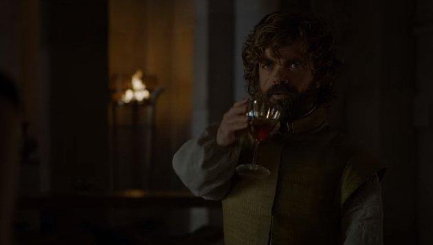 Wein trinken und Bescheid wissen - Tyrions Spezialitäten (Bild: HBO)