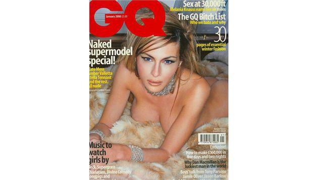 """So freizügig präsentierte sich Melania Trump auf der britischen """"GQ"""". (Bild: GQ)"""