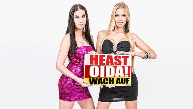 """""""""""Heast Oida! """"Wach auf: Tagespresse gegen ATV (Bild: ATV, Die Tagespresse)"""""""