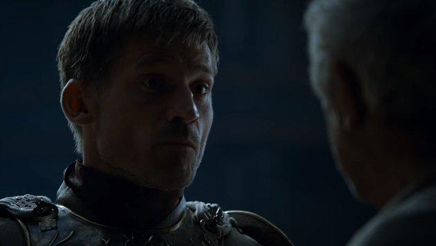 Er habe kein Problem damit, Blut zu vergießen, erklärt Jaime. (Bild: HBO)