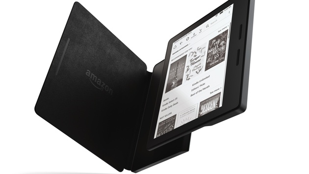 Kindle Oasis: Amzon stellt neuen E-Book-Reader vor (Bild: Amazon)