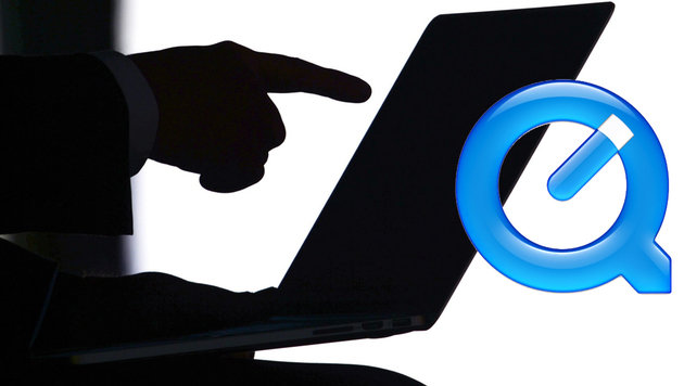 Apple QuickTime macht Microsoft Windows unsicher (Bild: APA/EPA/RALF HIRSCHBERGER, Apple)