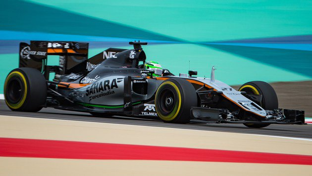 Niko Hülkenberg im 2016er-Force-India (Bild: AFP)