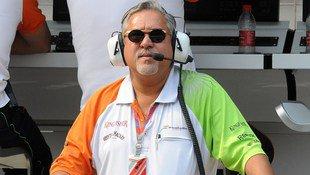 Force-India-Boss Mallya darf nicht mehr reisen (Bild: APA/AFP/PRAKASH SINGH)