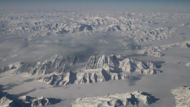 Grönlands Eisschild schmilzt immer schneller (Bild: NASA)
