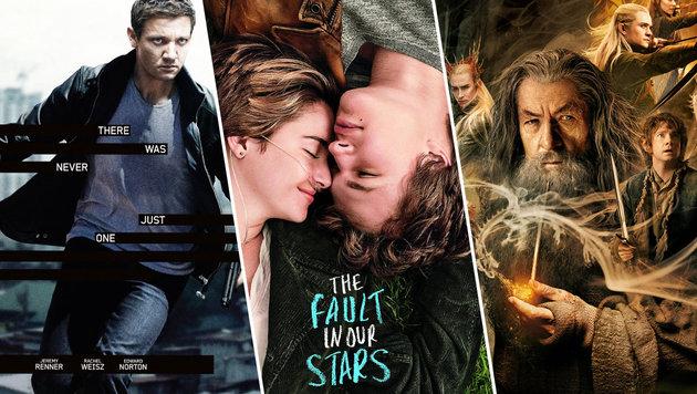 TV-Tipps: Action, Spannung und bittersüße Liebe (Bild: Universal Pictures, 20th Century Fox, Warner Bros.)