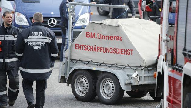 Zwei scharfe Rohrbomben in Wiener Hotel entdeckt (Bild: Reinhard Holl (Symbolbild))