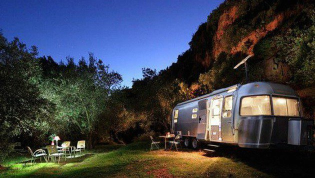 """So muss Traumurlaub! Die  13 coolsten Locations (Bild: Glamping Airstream)"""