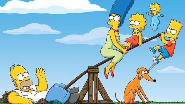 """""""Knecht Ruprecht"""" in """"Die Simpsons"""" (Bild: Fox Broadcasting)"""
