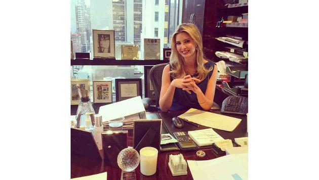 Ivanka Trump arbeitet für ihren Vater, schrieb auch eine Business-Fibel. (Bild: Viennareport)