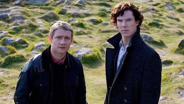John Watson und Sherlock Holmes (Bild: BBC One)