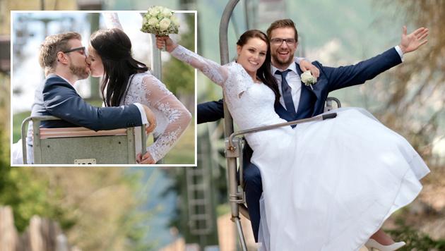 Anna Fenninger hat geheiratet - Geheim-Hochzeit (Bild: Melanie Koruna)