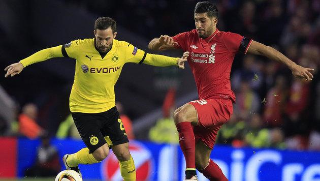 Liverpool-Held Can verletzt: Auch ihm droht EM-Aus (Bild: AP)