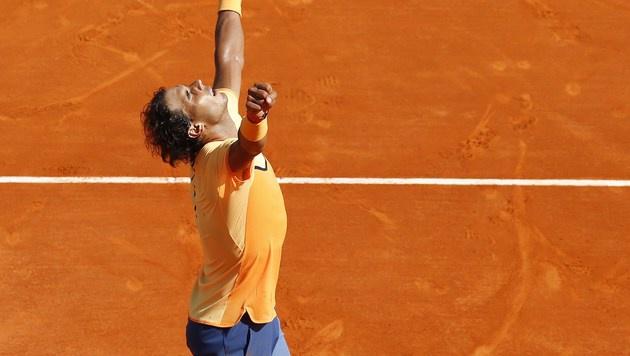 Monte Carlo: Nadal zum zehnten Mal im Finale (Bild: AFP)