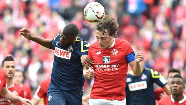 3:2-Sieg! Köln dreht Partie gegen Mainz (Bild: AP)