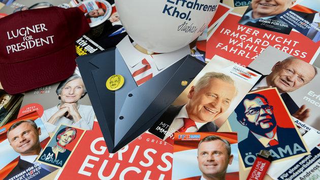 BP-Wahl: Großspender und Parteigelder offengelegt (Bild: APA/ROLAND SCHLAGER)