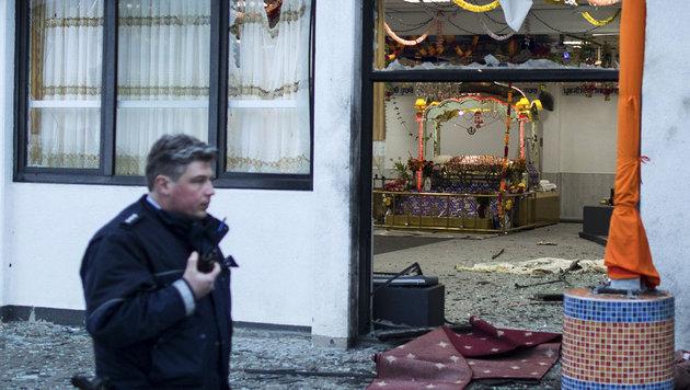 Deutschland: Explosion bei indischer Hochzeit (Bild: Associated Press)