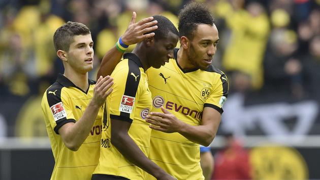 Liverpool-Frust abgelegt! BVB besiegt HSV mit 3:0 (Bild: AP)