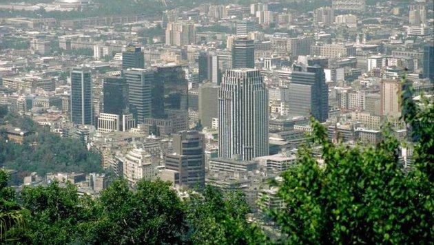 Blick auf Santiago de Chile (Bild: Wikipedia (gemeinfrei))