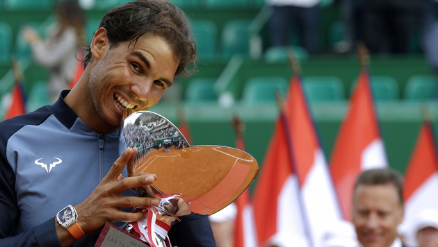 Nadal holt gegen Monfils neunten Monaco-Titel (Bild: AP)