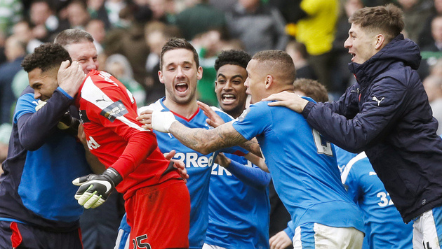 Sieg gegen Celtic! Glasgow Rangers im Cupfinale (Bild: AP)