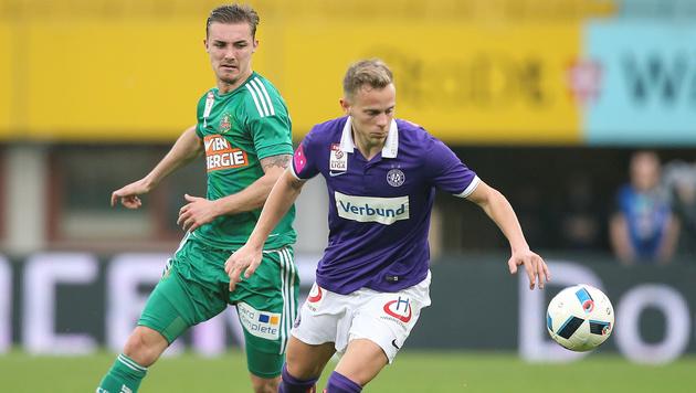1:0-Erfolg im Derby! Rapid kann doch noch siegen (Bild: GEPA)