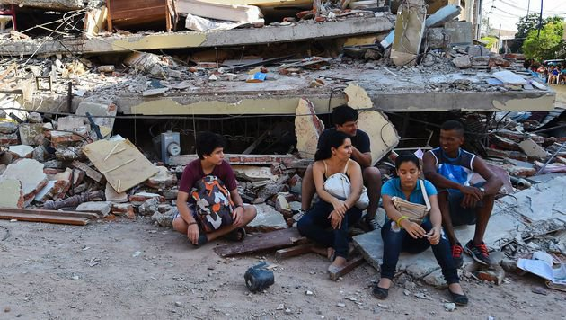Zahlreiche Familien haben alles verloren. (Bild: APA/AFP/LUIS ACOSTA)
