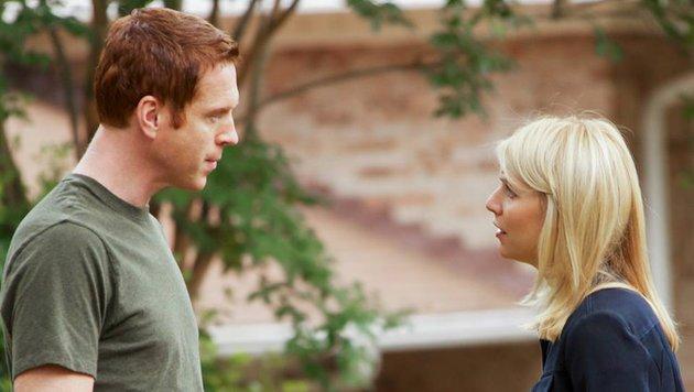 """Damian Lewis und Claire Danes in """"Homeland"""" (Bild: Showtime)"""