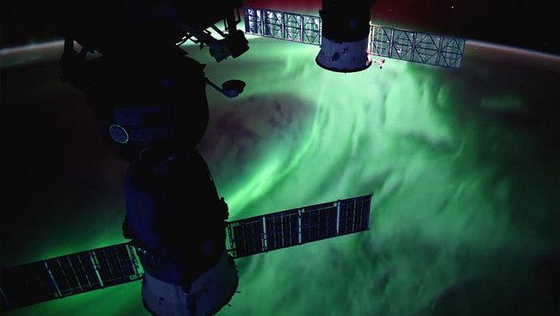 Polarlichter fungieren als Energieschlucker (Bild: NASA)