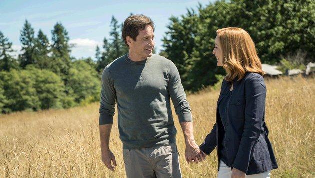 Hier nur gespielt, doch zum Glück verstehen sich die beiden auch im echten Leben wieder prächtig. (Bild: Fox Television)