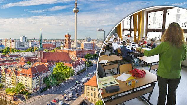Berlin angelt nach österreichischen Lehrern (Bild: thinkstockphotos.de, APA/SCHNEIDER)
