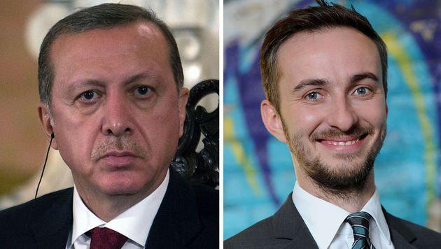 Erdogan scheitert mit Beschwerde zu Böhmermann (Bild: APA/AFP/BRITTA PEDERSEN/SEBASTIAN CASTANEDA)