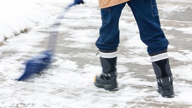 Für Räumung kassiert, doch Schnee blieb liegen (Bild: thinkstockphotos.de)