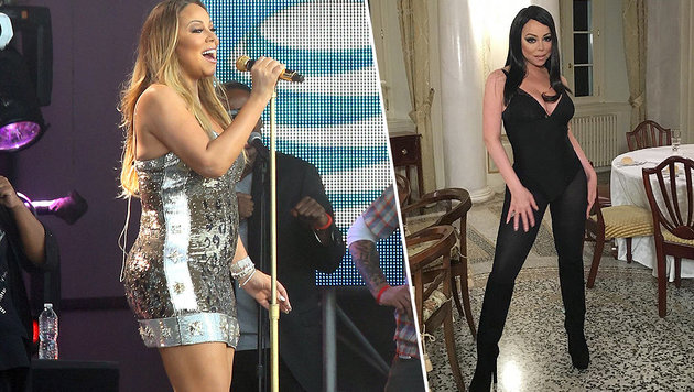 "Mariah Carey: Sexy Vamp statt ""Presswurst-Look"" (Bild: instagram.com/mariahcarey, Viennareport)"