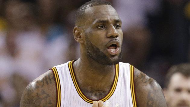 NBA: Auftaktsiege für Cleveland und San Antonio (Bild: AP 2016)