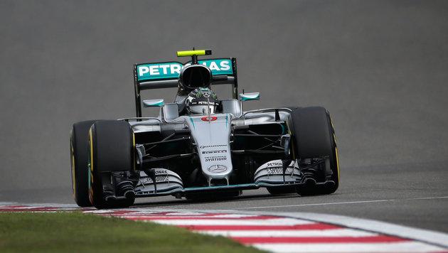 """Rosberg: """"Dieser Sieg ist für alle meine Frauen"""" (Bild: AP)"""