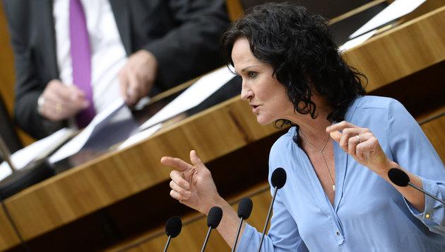 Grünen-Bundessprecherin Eva Glawischnig (Bild: APA/Robert Jäger)