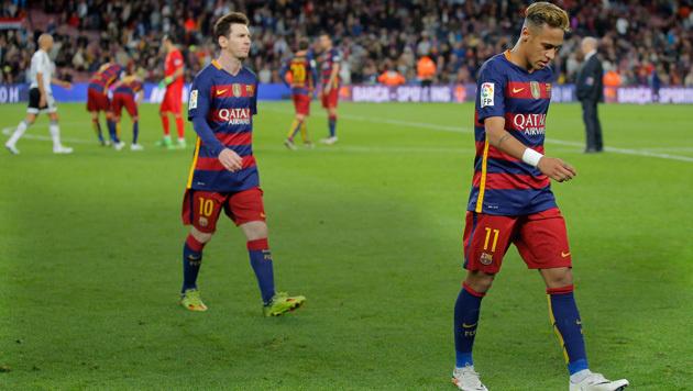 Video: Barcelona-Krise! Messi-Tor reicht nicht (Bild: ASSOCIATED PRESS)